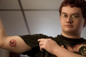 An actual god damn Spewer tattoo.